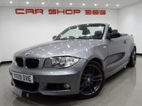2009 BMW 1 SERIES 2.0 120D (175 BHP) M SPORT CONVERTIBLE £5990.00
