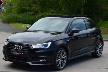 2016 AUDI A1 1.6 TDI BLACK EDITION 3d 114 BHP