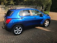 USED 2013 63 CHEVROLET TRAX 1.7 LT VCDI 5d 128 BHP ONE OWNER FROM NEW + LOW ROAD TAX ONLY £30 A YEAR !!