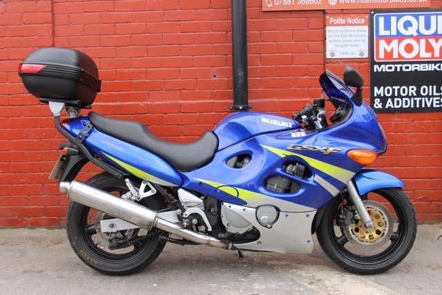 USED 2002 52 SUZUKI GSX 600 F FK2  A Great Example, Good First Big Bike Or Commuter. Delivery Available.