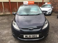 USED 2011 61 FORD FIESTA 1.2 ZETEC 5d 81 BHP One Private Owner with Full Dealer Service History !!! Ford Bluetooth, Only 38,000 Miles , 12 Mths Mot.