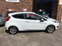 USED 2014 14 FORD FIESTA 1.2 ZETEC 3d 81 BHP Only £30 Road Tax, Ford Bluetooth, Full Service History, Only 2 Owners, Only 43,000 Miles.