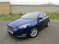 USED 2016 16 FORD FOCUS 1.0 ZETEC 5d 124 BHP LOW MILEAGE