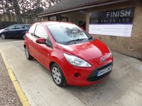 USED 2013 63 FORD KA 1.2 EDGE 3d 69 BHP * 12 MONTHS MOT * 6 MONTHS WARRANTY * 12 MONTHS ROAD TAX * £0 DEPOSIT FINANCE AVAILABLE *