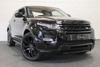 USED 2015 15 LAND ROVER RANGE ROVER EVOQUE 2.2 SD4 DYNAMIC LUX 3d AUTO 190 BHP **BLACK PACK+LUX PACK+COUPE**