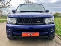 USED 2009 59 LAND ROVER RANGE ROVER SPORT 3.0 TDV6 HSE AUTO 245 BHP 5 DR ESTATE SATNAV* REVERSE CAM* CALI BLUE