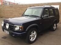 2004 LAND ROVER DISCOVERY 2.5 LANDMARK TD5 5d AUTO 136 BHP £5499.00