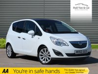 USED 2012 62 VAUXHALL MERIVA 1.4 SE 5d 118 BHP PAN ROOF,HALF LEATHER,AIR CON