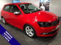 "USED 2015 15 SKODA FABIA 1.2 SE L TSI 5D 109 BHP USB & AUX Sockets   :   Cruise Control / Speed Limiter   :   Front & Rear Parking Sensors        16"" Alloy Wheels   :   2 Keys   :   Comprehensive Service History"