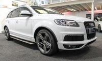 USED 2014 14 AUDI Q7 3.0 TDI QUATTRO S LINE PLUS 5d AUTO 245 BHP **PAN ROOF+BOSE+BLACK PACK**
