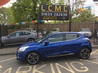 USED 2017 67 RENAULT CLIO 0.9 DYNAMIQUE S NAV TCE 5d 89 BHP STUNNING IRON BLUE PAINT WORK, CARBON CLOTH INTERIOR, SAT NAV, AIR CON, 17 INCH POLISHED ALLOY WHEELS, BLUETOOTH, CRUISE CONTROL, REAR PARKING SENSORS,