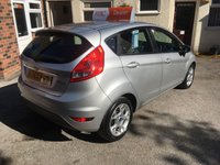 USED 2012 62 FORD FIESTA 1.2 ZETEC 5d 81 BHP Only 14,000 Miles, Ford Bluetooth, Serviced on Delivery & 12 Mths Mot