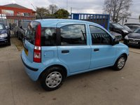 USED 2011 11 FIAT PANDA 1.2 ACTIVE 5STR 5d 69 BHP NEW MOT, SERVICE & WARRANTY