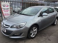 USED 2013 13 VAUXHALL ASTRA 1.6 SRI 5d 113 BHP Great family hatchback, probably the best available