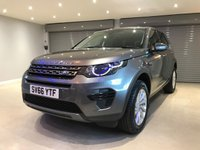 "USED 2016 66 LAND ROVER DISCOVERY SPORT 2.0 TD4 SE 5d AUTO 180 BHP 7 SEATS + 18"" ALLOY WHEELS + PRIVACY GLASS"