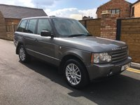 USED 2009 09 LAND ROVER RANGE ROVER 3.6 TDV8 VOGUE 5d AUTO 272 BHP DRIVES SPOT ON IN GREY WITH BLACK LEATHER SERVICE HISTORY TAKEN IN PX BY US SUPER VALUE