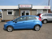USED 2010 10 FORD FIESTA 1.2 ZETEC 5DR 82 BHP