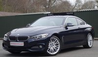 2014 BMW 4 SERIES 3.0 430D LUXURY 2d AUTO 255 BHP £16950.00