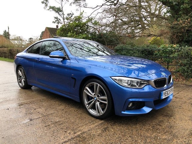 2014 63 BMW 4 SERIES  2.0 428i M Sport 2dr