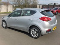 USED 2013 13 KIA CEED 1.4 2 5d 98 BHP BALANCE OF MANUFACTURERS SEVEN YEAR WARRANTY
