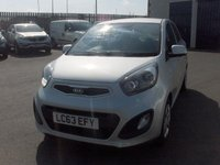 USED 2014 63 KIA PICANTO 1.0 1 5d 68 BHP BALANCE OF MANUFACTURERS SEVEN YEAR WARRANTY