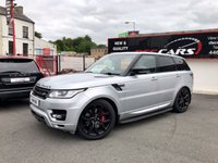 2013 LAND ROVER RANGE ROVER SPORT 3.0 SDV6 AUTOBIOGRAPHY DYNAMIC 5d AUTO 288 BHP £29995.00