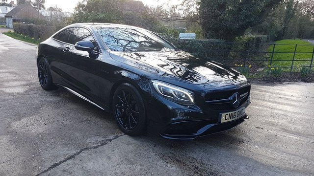 2016 16 MERCEDES-BENZ S CLASS 5.5 S63 AMG S (s/s) 2dr