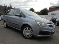 USED 2005 55 VAUXHALL ZAFIRA 1.6 LIFE 16V 5d 105 BHP ****7 SEATER LOW MILES****