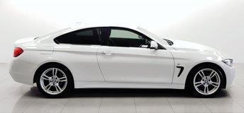 2015 BMW 4 SERIES 2.0 420D M SPORT 2d 188 BHP £17950.00