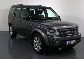 2015 LAND ROVER DISCOVERY 3.0 SDV6 SE TECH 5d 255 BHP £29995.00