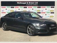 2013 AUDI A6 2.0 TDI BLACK EDITION 4d AUTO 175 BHP £13499.00