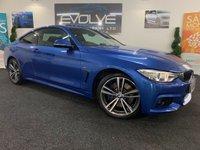 2015 BMW 4 SERIES 3.0 430D XDRIVE M SPORT 2d AUTO 255 BHP £18690.00