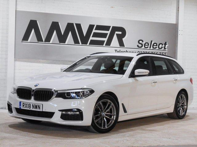 2018 18 BMW 5 SERIES 2.0 520I M SPORT TOURING 5d AUTO 181 BHP