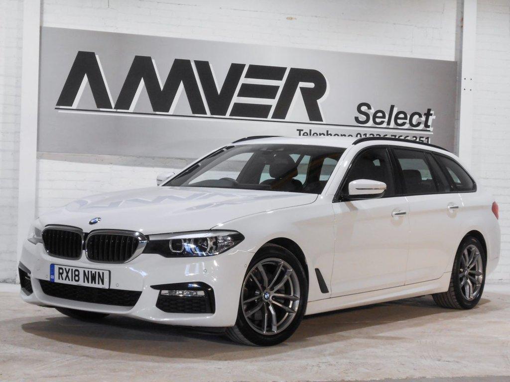 USED 2018 18 BMW 5 SERIES 2.0 520I M SPORT TOURING 5d AUTO 181 BHP