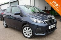 USED 2018 18 PEUGEOT 108 1.0 ACTIVE 5d 68 BHP VIEW AND RESERVE ONLINE OR CALL 01527-853940 FOR MORE INFO.