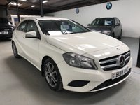 2014 MERCEDES-BENZ A CLASS 1.8 A200 CDI BLUEEFFICIENCY SPORT 5d 136 BHP £8995.00