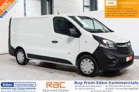 2015 VAUXHALL VIVARO 1.6 2900 L1H1 CDTI * LOW MILEAGE * AIR CON * £9895.00