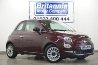 2015 FIAT 500 1.2 LOUNGE NEW MODEL HIGH SPEC 70 BHP £5480.00
