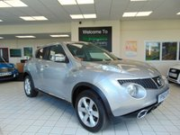 USED 2010 60 NISSAN JUKE 1.5 ACENTA DCI 5d 110 BHP FULL SERVICE HISTORY + CRUISE CONTROL + CD RADIO + AIR CONDITIONING + ALLOYS + CENTRAL LOCKING + ELECTRIC WINDOWS + GREAT MPG