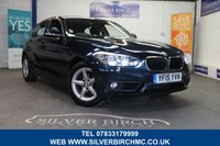 USED 2015 15 BMW 1 SERIES 2.0 118D SE 5d AUTO 147 BHP Navigation, Finance Available
