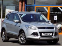 USED 2014 14 FORD KUGA 2.0 TDCi Titanium 4WD 5dr ** Appearance + Convenience Packs **