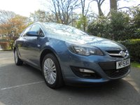 USED 2015 15 VAUXHALL ASTRA 1.7 EXCITE CDTI 5d 108 BHP EXCELLENT SERVICE HISTORY