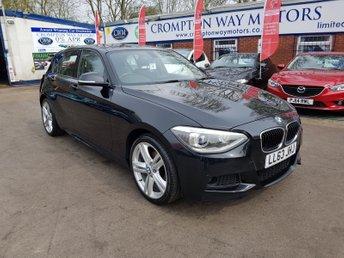 2013 BMW 1 SERIES 2.0 120D XDRIVE M SPORT 5d 181 BHP £10500.00