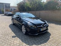 USED 2016 16 MERCEDES-BENZ E CLASS 3.0 E 350 D AMG LINE EDITION 2d AUTO 255 BHP Low Mileage, NAV, Panroof, MOT, ULEZ, Warranty, Finance