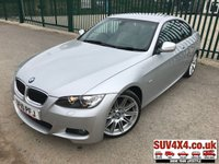 USED 2010 10 BMW 3 SERIES 3.0 325I M SPORT HIGHLINE 2d AUTO 215 BHP LEATHER M-SPORT BODYKIT. STUNNING SILVER MET WITH FULL BEIGE LEATHER SPORTS TRIM. ELECTRIC MEMORY HEATED SEATS. CRUISE CONTROL. 19 INCH ALLOYS. COLOUR CODED TRIMS. PARKING SENSORS. BLUETOOTH PREP. DUAL CLIMATE CONTROL INCLUDING AIR CON. MFSW. R/CD PLAYER. MFSW. MOT 02/20. SUV & 4X4 CAR CENTRE LS23 7FR. TEL 01937 849492. OPTION 2