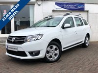USED 2014 14 DACIA LOGAN MCV 1.5 LAUREATE DCI 5d 90 BHP SUPPLIED WITH 12 MONTHS MOT, LOVELY CAR TO DRIVE