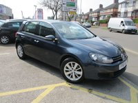 USED 2011 61 VOLKSWAGEN GOLF 1.6 MATCH TDI BLUEMOTION TECHNOLOGY 5d 103 BHP Low Mileage & Full Service History