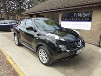 USED 2013 63 NISSAN JUKE 1.6 ACENTA PREMIUM 5d 117 BHP * FULL SERVICE HISTORY WITH 4 STAMPS *