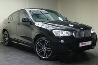 "USED 2016 16 BMW X4 3.0 XDRIVE30D M SPORT 4d AUTO 255 BHP 19""ALLOYS+HEATED SEATS+NAV+REVERSE CAM+CRUISE CON+CLIMATE CON"