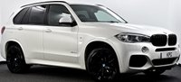 "USED 2014 64 BMW X5 3.0 30d M Sport Steptronic xDrive (s/s) 5dr Reverse Cam, Black Pack, 20""s"